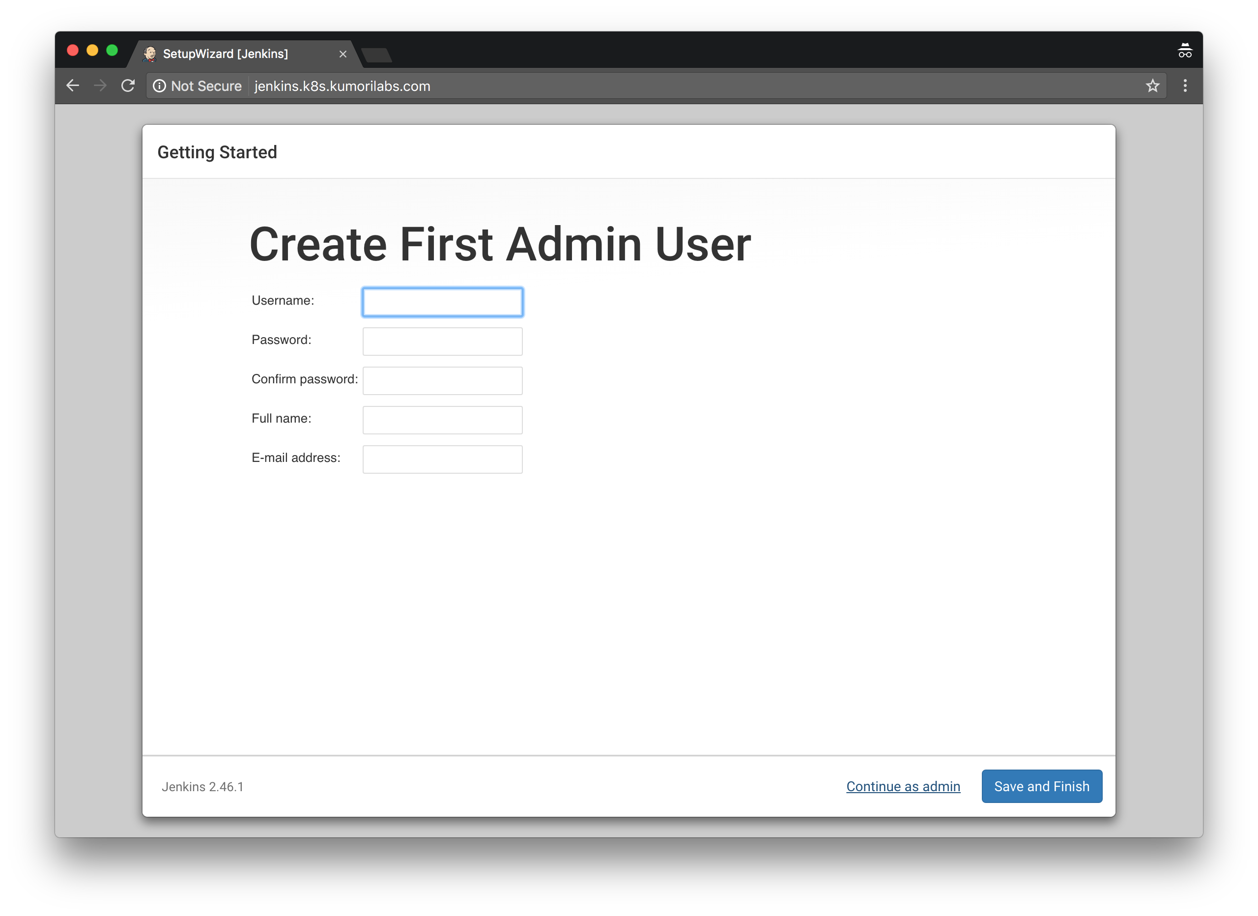 Getting To Know K8s   Lab #6: Integrating Jenkins and Kubernetes